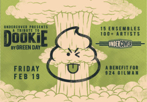 "UnderCover presents the Green Day ""Dookie"" tribute February 19, 2016 at the Fox Theater, Oakland CA"